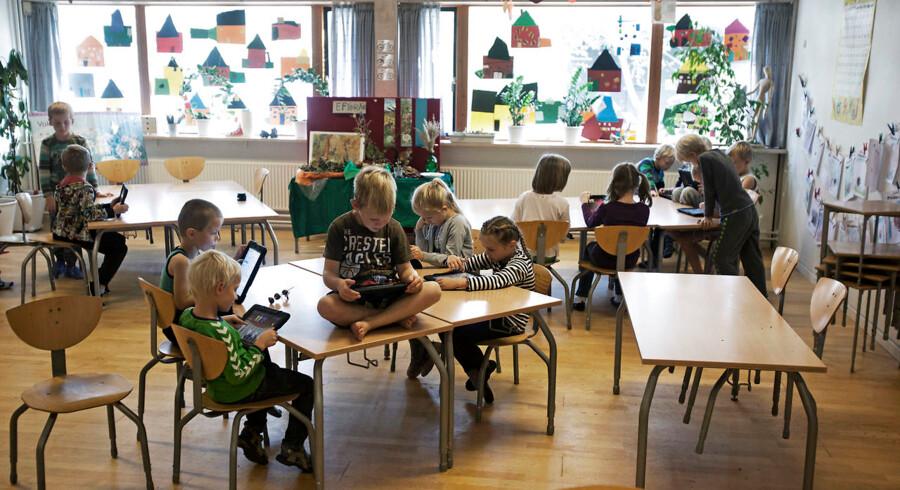 Københavns borgmester for børn og ungdom vil have forældrene til at betale mere for børnenes pladser i fritidstilbudene. Men det forhindrer lovgivningen.