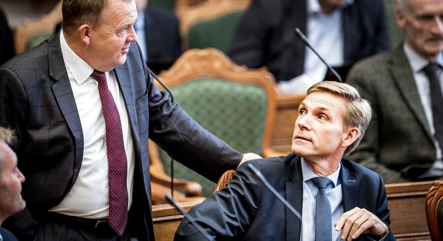 »Jeg synes, at meget omkring det internationale bar præg af en analyse, mere end at han nåede frem til nogle konklusioner,« siger DF-formand Kristian Thulesen Dahl om det store fokus på international politik i statsminister Lars Løkke Rasmussens (V) nytårstale.