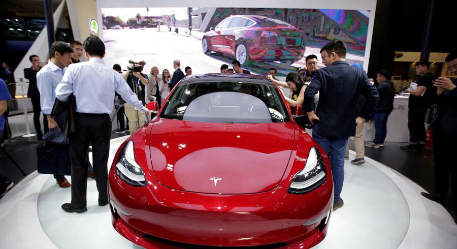 Salget af Teslas Model 3 skuffede i fjerde kvartal.