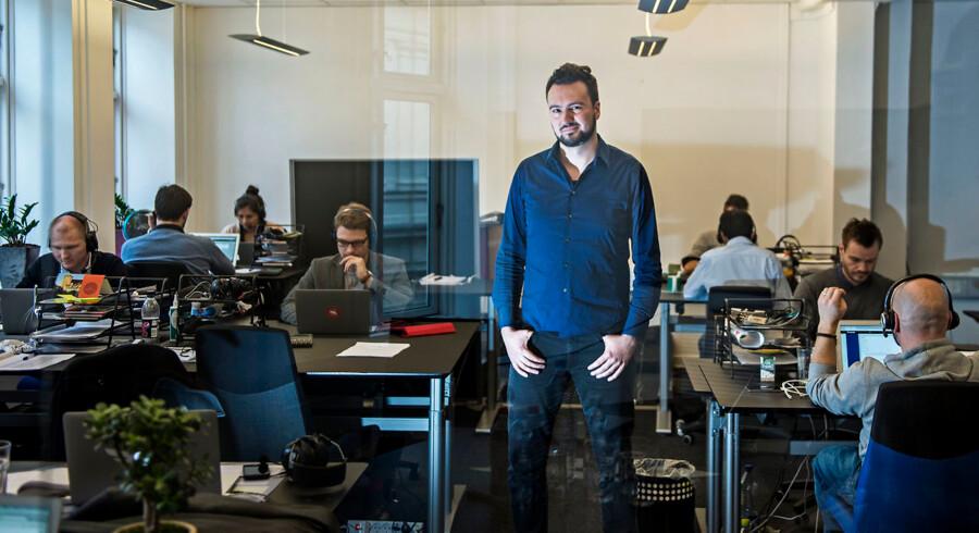 Ulrik Bo Larsen, direktør og stifter af Falcon.io har netop solgt virksomheden til den amerikanske softwaregigant Cision.