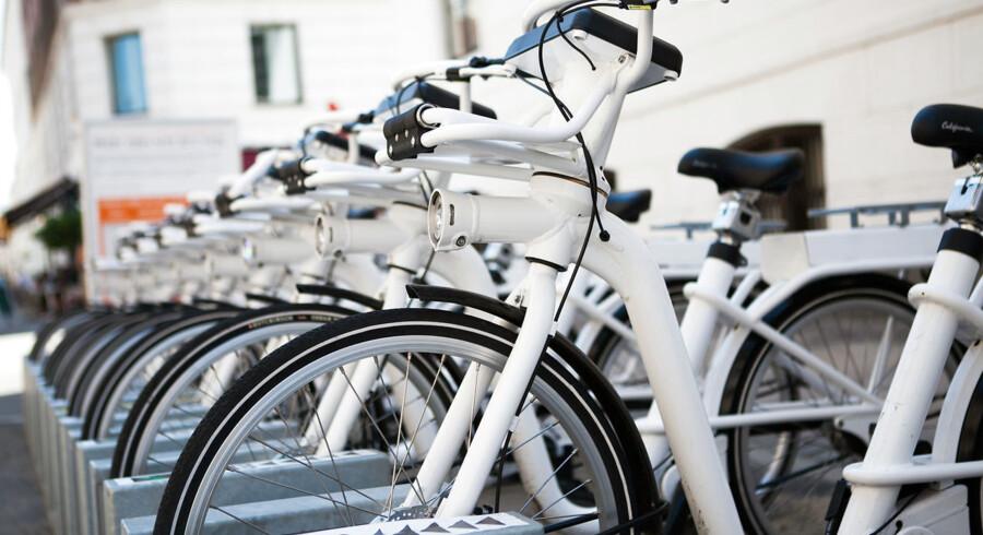 I løbet af foråret skal der falde en endelig afgørelse om, hvorvidt man vil tillade konkurrence til bycyklen om at levere grøn mobilitet til københavnerne. Arkivfoto: GoBike