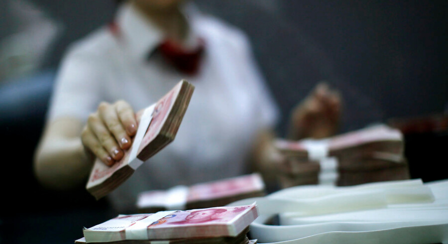 I tredje kvartal 2018 voksede den kinesiske økonomi med 6,5 procent. Det var den svageste vækst siden første kvartal 2009.