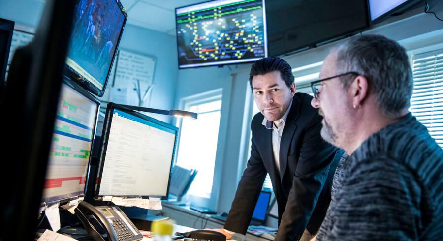 Hver femte leder har ingen lederuddannelse, men Alex Jensen, der er IT-manager hos DB Cargo Scandinavia er i fuld gang med sin.