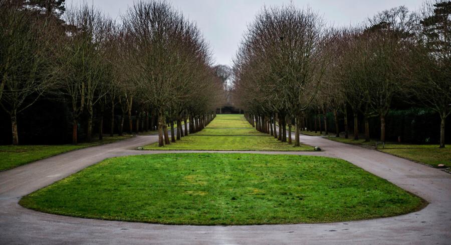 Mariebjerg Kirkegård i Genrofte har en parklignende karakter, der understreges af de brede alleer, som leder den besøgende rundt i de omkring 40, små mindre afdelinger eller haverum. Mariebjerg er et forsøg i 1920rne på at skabe en ny type kirkegård til de moderne tider.