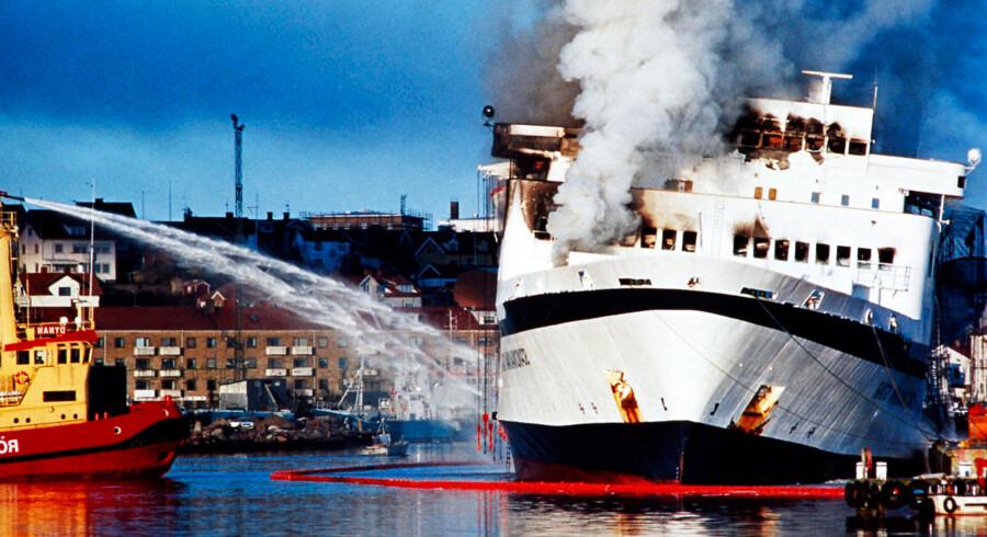 Mordbranden på færgen Scandinavian Star den 7. april 1990 kostede 159 mennesker livet