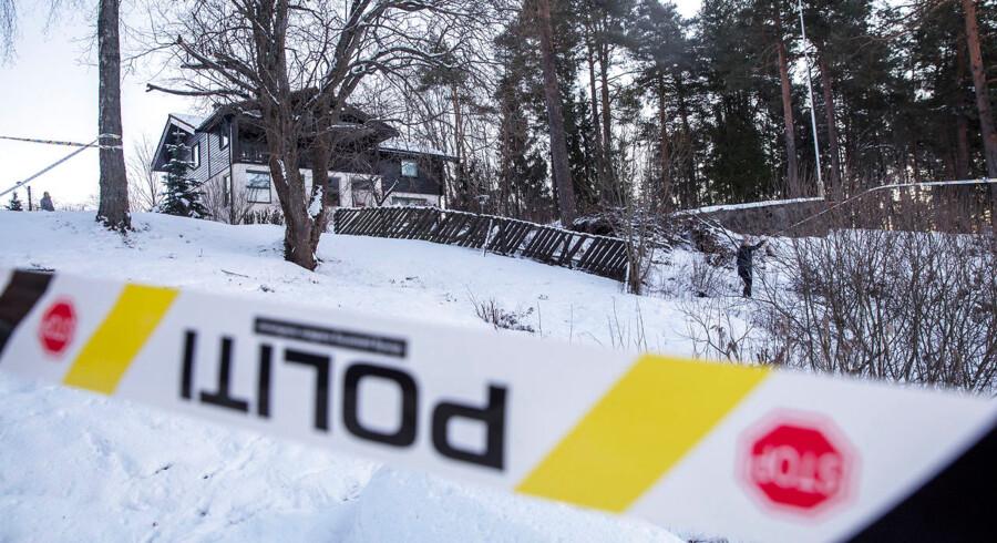 Den 68-årige Anne-Elisabeth Falkevik Hagen er blevet bortført fra sit hjem i i Lørenskog. Foto: Ole Berg-Rusten / NTB Scanpix. (Foto: Berg-Rusten, Ole/Ritzau Scanpix)