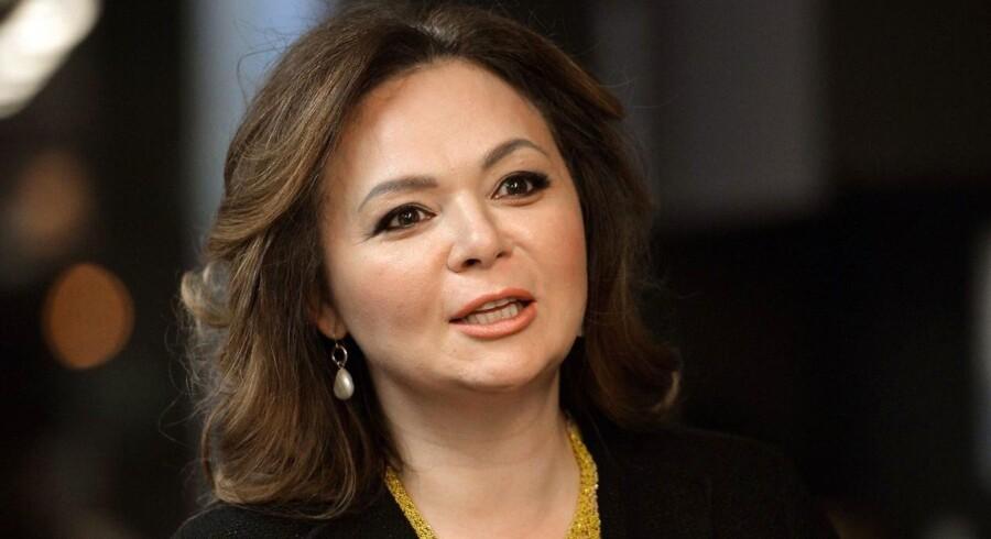 Den nu sigtede russiske advokat Natalia Veselnitskaja fotograferet under et interview i Moskva.