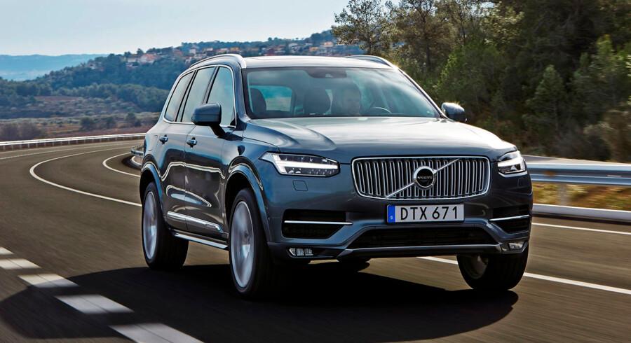 Volvo XC90 er netop fyldt tre år, og det gør den til en uhyre populær bil til flexleasing, for når bilens alder passere tre år, så falder den forholdsmæssige afgift fra 1,0 pct. til 0,5 pct.