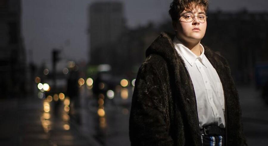 18-årige Charlie Hanghøj er transmand og talsperson for LGBT Danmark. Han ønsker, at danske uddannelsesinstitutioner skaber tryghed og sikkerhed for transkønnede. Foto: Søren Bidstrup