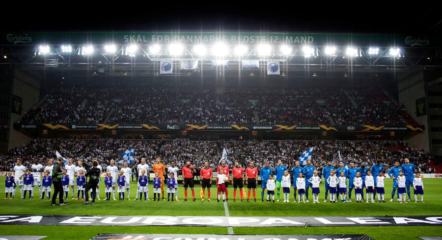 Foreløbigt bliver FC København og Parken på danske hænder, men et afvist opkøbsforsøg er ikke ensbetydende med, at de nuværende ejere af Parken Sport & Entertainment ikke på et senere tidspunkt kan blive fristet. Arkivfoto: Liselotte Sabroe/Ritzau Scanpix