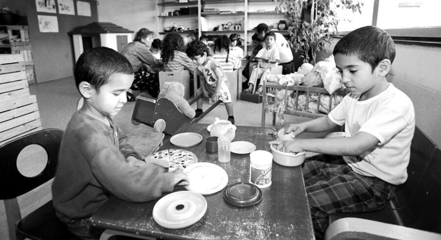 Børn på Udrejsecenter Sjælsmark lever under svære livsvilkår, vurderer Ombudsmanden. Men faciliteterne er ikke børnenes primære problem, lyder det i rapport. Her ses arkivbillede fra det tidligere asylcenter Kongelunden.