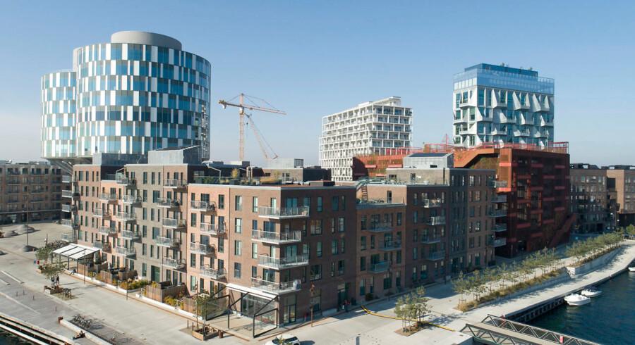 Nordhavn er et af de områder i København, hvor der i disse år bygges rigtig mange nye ejerboliger.