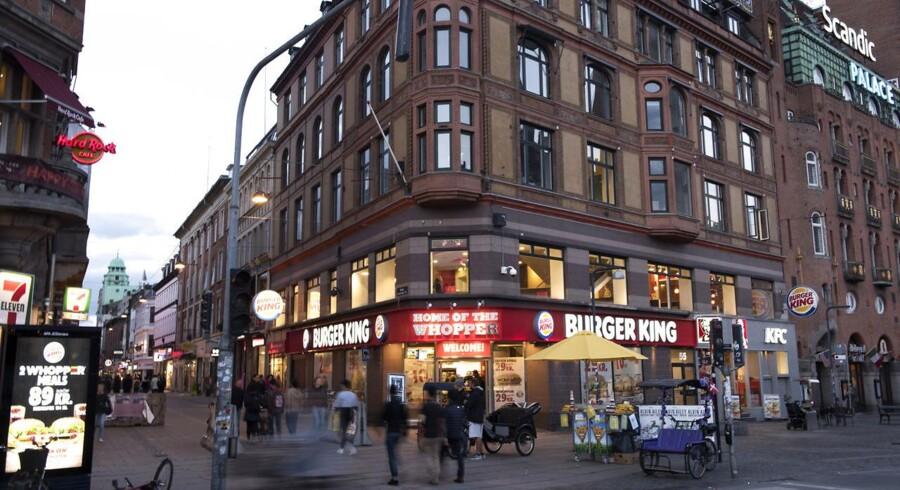 ARKIVFOTO: Burger King ved Rådhuspladsen.