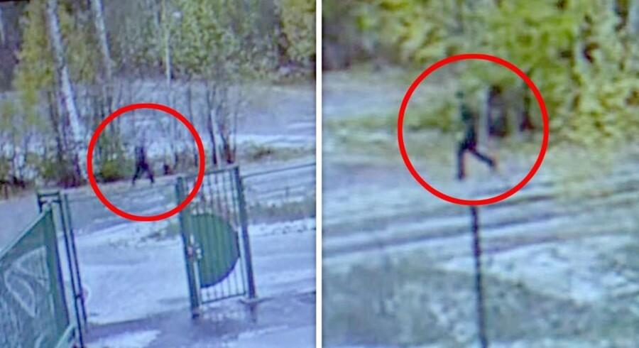 Tre mennesker blev fanget på overvågningskamera den dag Anne-Elisabeth Falkevik Hagen forsvandt. Fredag meldte den ene - en cyklist - sig frivilligt til politiet. Politiet ved stadig ikke, hvem de to øvrige sortklædte mænd er.