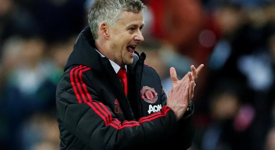 Ole Gunnar Solskjær har vendt op og ned på spillet i Manchester United, efter at han tog over efter José Mourinho. Eddie Keogh/Reuters