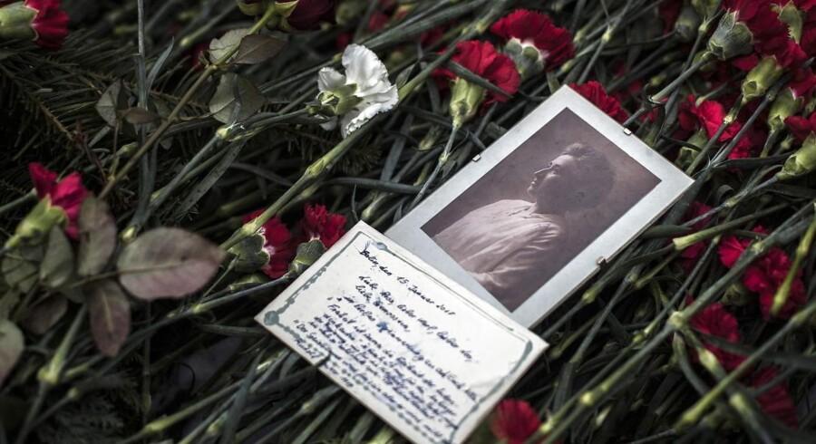 Rosa Luxemburg blev dræbt for 100 år siden. Det blev markeret med en demonstration, som bl.a. Per Clausen fra Enhedslisten deltog i. Foto: Oliver Weiken/Epa/Ritzau Scanpix