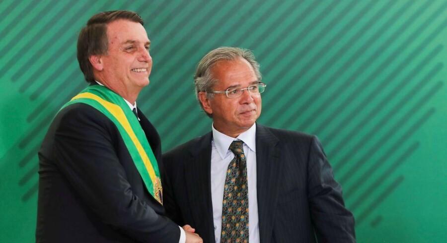 Brasiliens nye præsident, Jair Bolsonaro, og hans økonomiminister, Paulo Guedes, står for et revolutionerende økonomisk reformprogram, der skal skabe et mere dynamisk og effektivt samfund.