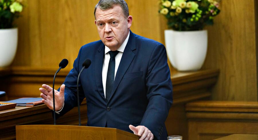 Lars Løkke Rasmussen (V) vil nedlægge regionsrådene, erfarer Berlingske. Foto: Philip Davali/Ritzau Scanpix
