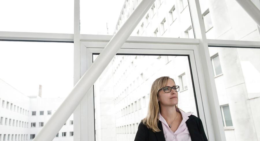 Stephanie Lose er formand for Danske Regioner og selv valgt ind for Venstre – men hun er ikke enig i partifællernes nedlæggelse af rådene. Foto: Morten Lau-Nielsen