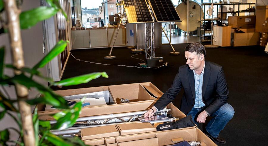Siden Bluetown blev stiftet i 2010 har selskabet har selskabet etableret kontorer i Silicon Valley, Indien, Tanzania og Ghana udover hovedkontoret i Parken i København. Peter Ib kom til i 2013 og er i dag selskabets direktør.