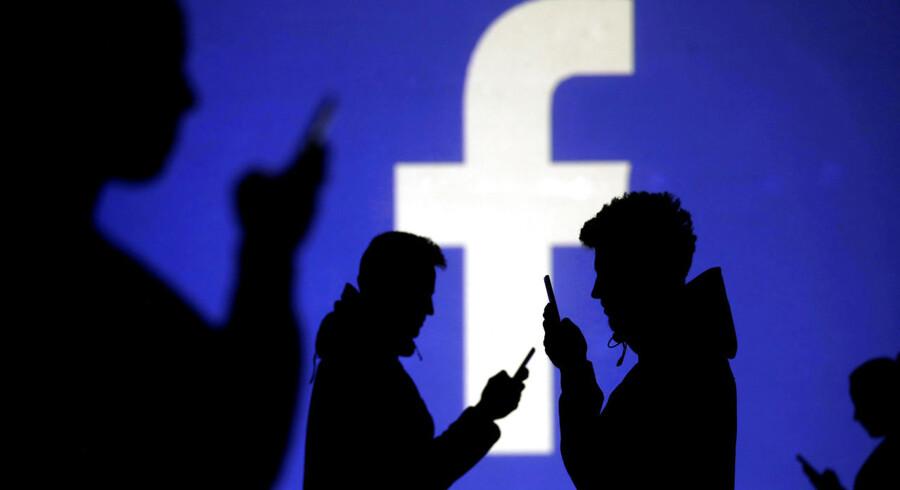 Facebook er blandt yndlingsaktier hos kapitalforvalteren T. Rowe Price. Arkivfoto: Reuters/Dado Ruvic/Ritzau Scanpix