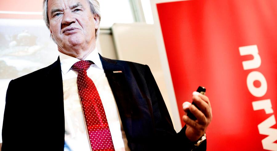 Norwegians topchef, Bjørn Kjos stiler efter en positiv bundlinje i 2019.