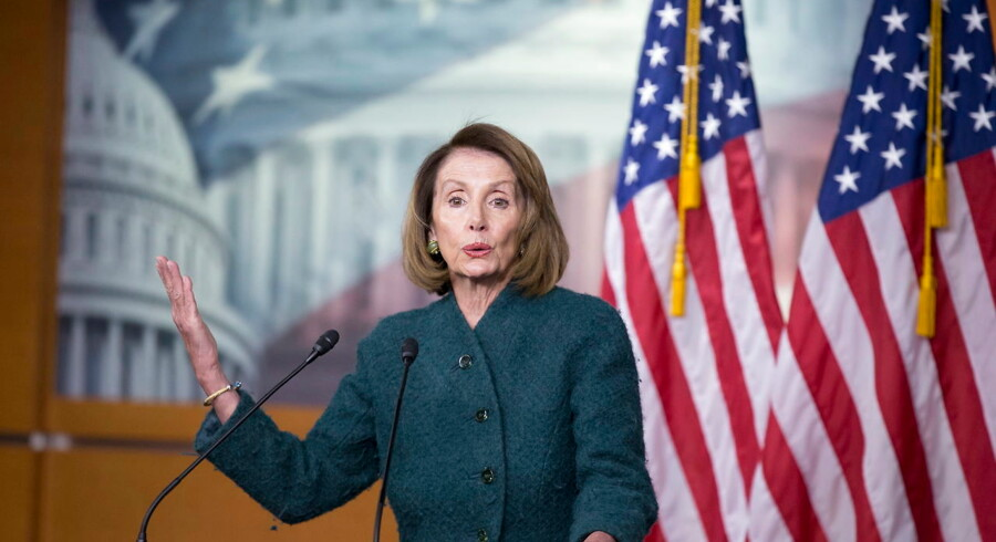 Demokraternes Nancy Pelosi er formand for Repræsentanternes Hus.