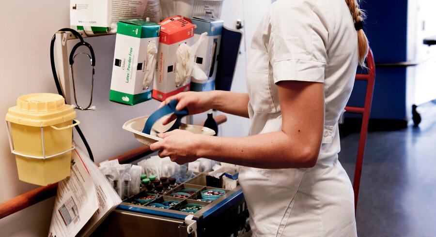 Regeringen vil arbejde for, at flere sygeplejersker får mulighed for at arbejde mere.