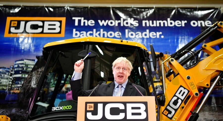Det konservative parlamentsmedlem Boris Johnson præsenterede fredag sine ideer for, hvordan Storbritannien kan redde Brexit-processen.