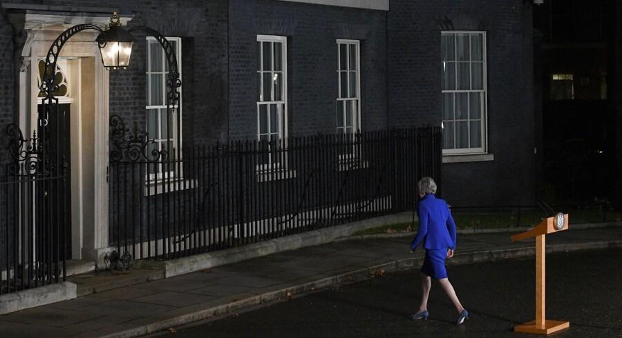 Theresa May har indtil videre afvist, at hun ønsker at udskyde Brexit.