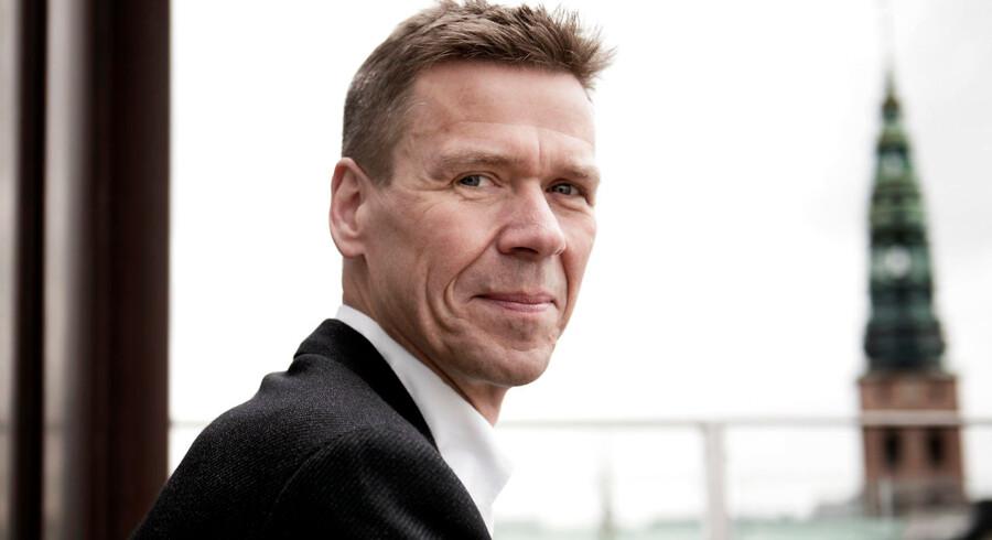 Jesper Hjulmand, der er administrerende direktør i SEAS-NVE, kan potentielt ende med at skulle betale en lavere pris for Radius, såfremt et salg kommer på tale igen.