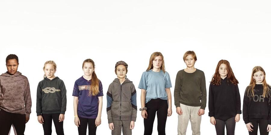 """De medvirkende børn i """"Mod alle odds"""" er udvalgt efter deres egne forskellige sociale baggrunde"""