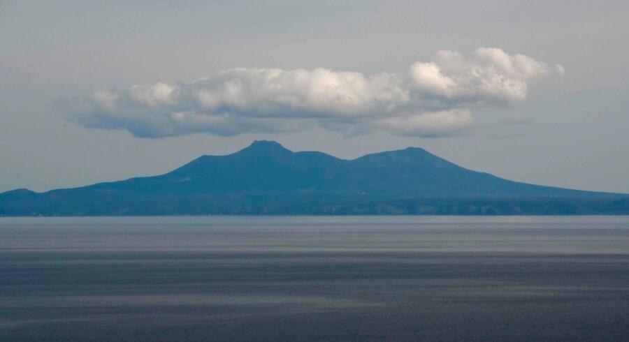 Kunashiri, en af Kuril-øerne.