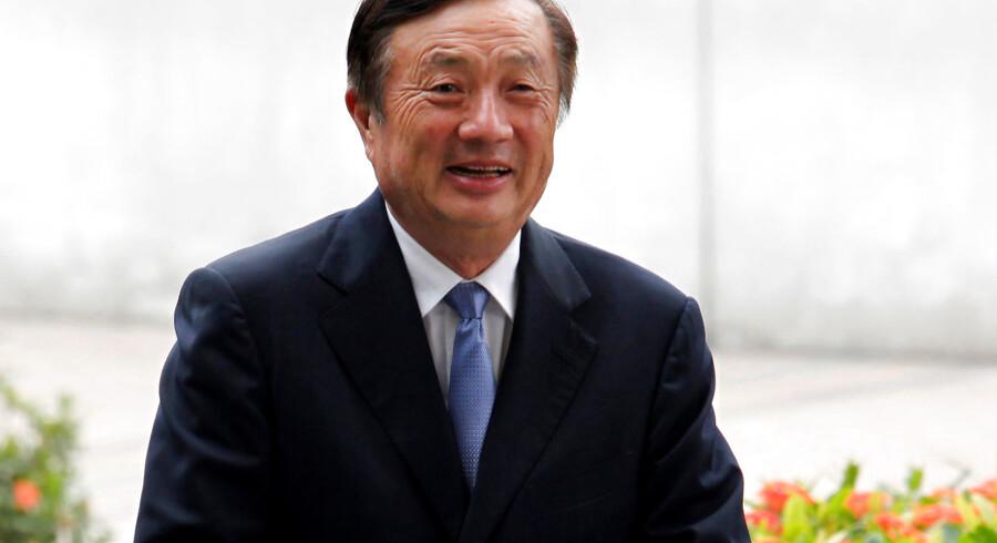 Huaweis stifter Ren Zhengfei har en fortid i den kinesiske hær og har tætte forbindelser til toppen af det kinesiske kommunistparti.