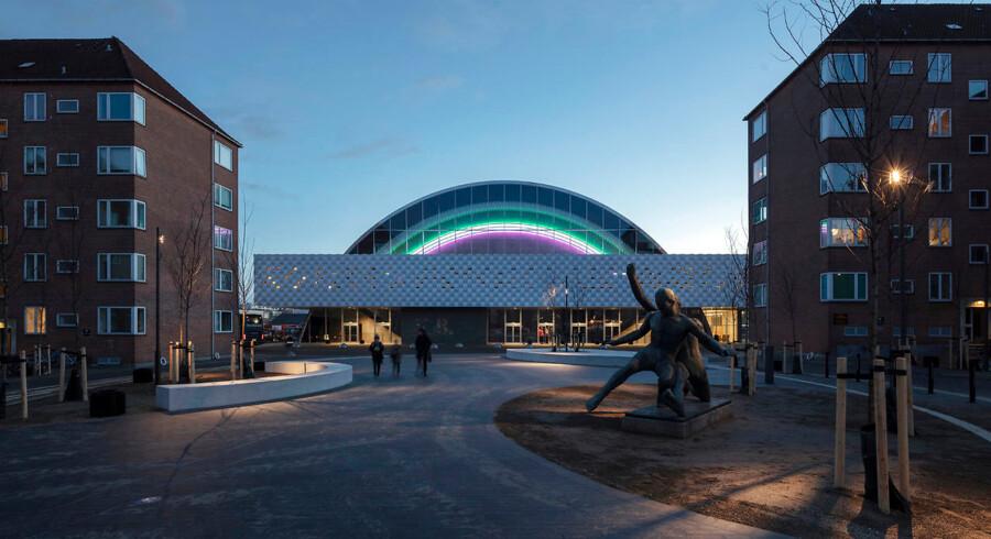 Den nyrenoverede version af K.B. Hallen, der åbner med en endagsfestival 24. januar. Hallen har udviddet sin kapacitet fra 3.000 til 4.900 mennesker.