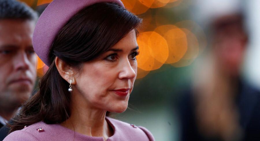 I Davos deltager kronprinsesse Mary i en lancering af de vigtigste bæredygtige prioriteter for modeindustrien. Arkivfoto. REUTERS/Ints Kalnins