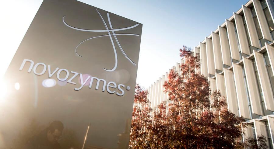 Novozymes hovedkontor ligger i Bagsværd udenfor for København.