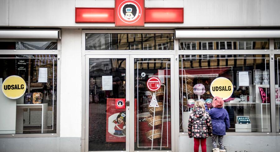 Arkiv. Lukket Fætter BR-butik i Svendborg, lørdag den 29. december 2018.