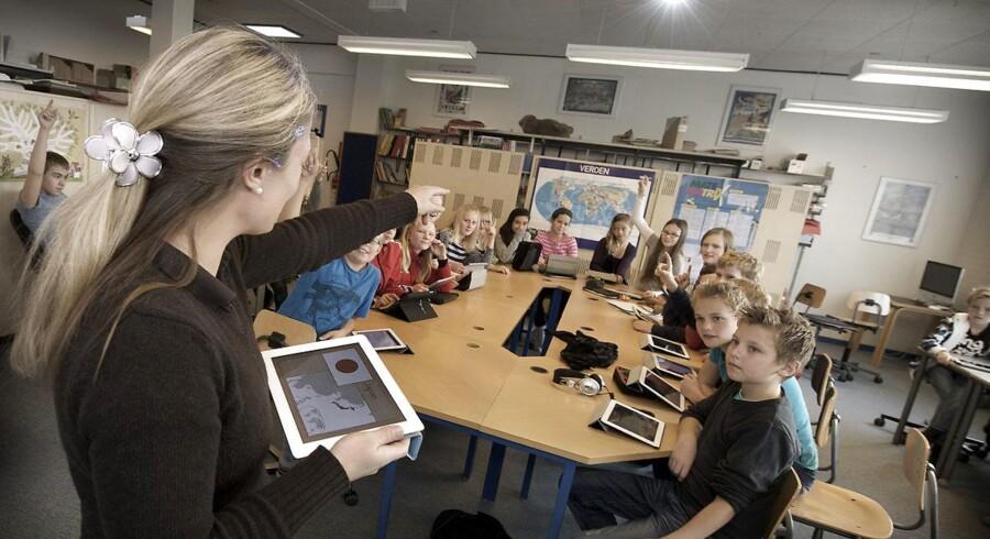 Digitalisering af uddannelsessystemet giver ikke børnene bedre faglige kompetencer.