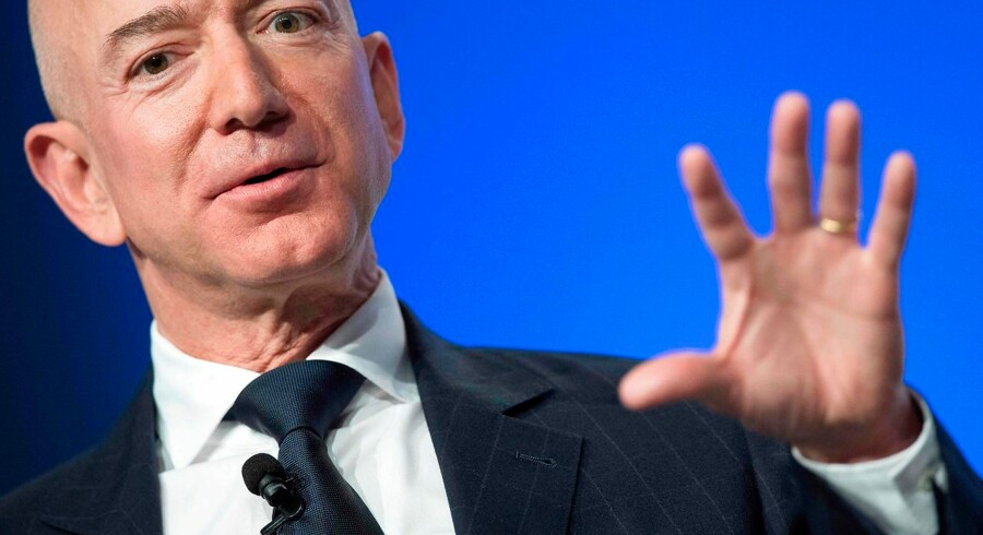 Jeff Bezos er manden bag Amazon.com, der nu er verdens største virksomhed.