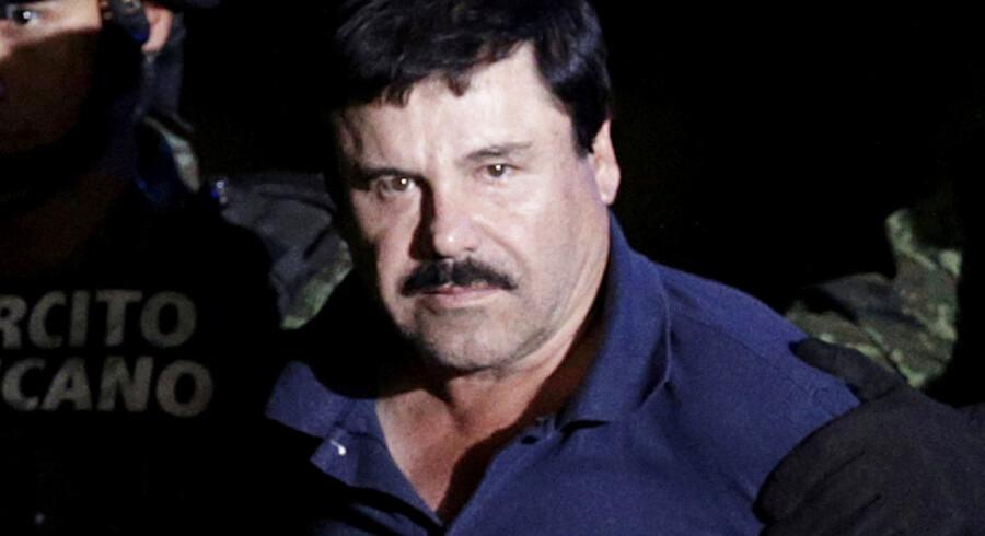 Den berygtede leder af Sinaloa-kartallet er flere gange blevet af mexicansk politi - og flere gange er det lykkedes ham at flygte.