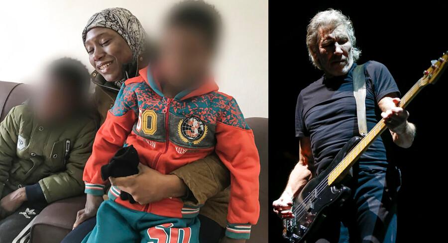 Rocklegenden Roger Waters fra Pink Floyd finansierede det privatfly, som reddede to brødre ud af Syrien. Nu vil han hjælpe flere børn af IS-medlemmer, som sidder fast i juridisk limbo, hjem til deres hjemlande.
