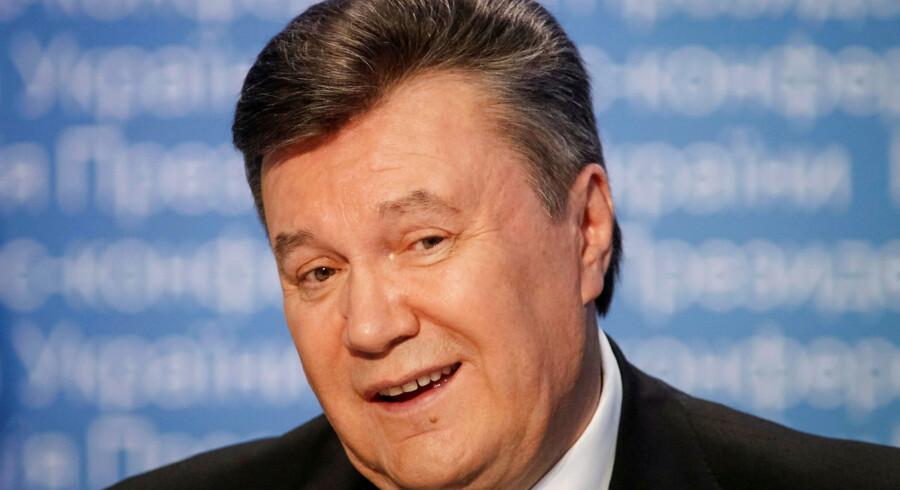 Den ukrainske ekspræsident blev idømt 13 års fængsel, men han kommer næppe til at afsone, så længe Rusland nægter at udlevere ham.