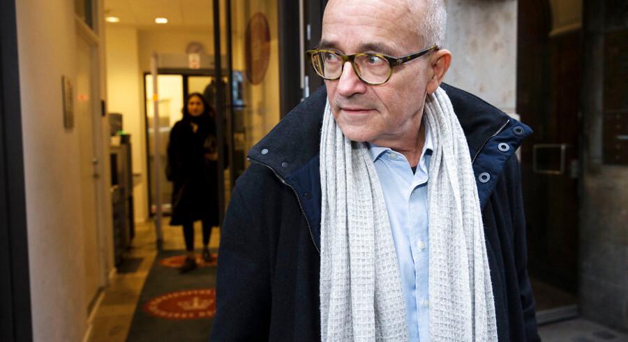 """Billedetekst Københavns Byret afsiger dom klokken 14.00 i straffesagen mod den tidligere chef for PET, der er tiltalt for at have overtrådt tavshedspligten 28 gange i bogen """"Syv år for PET"""". Sagen er blevet behandlet over en lang række retsmøder i 2018."""