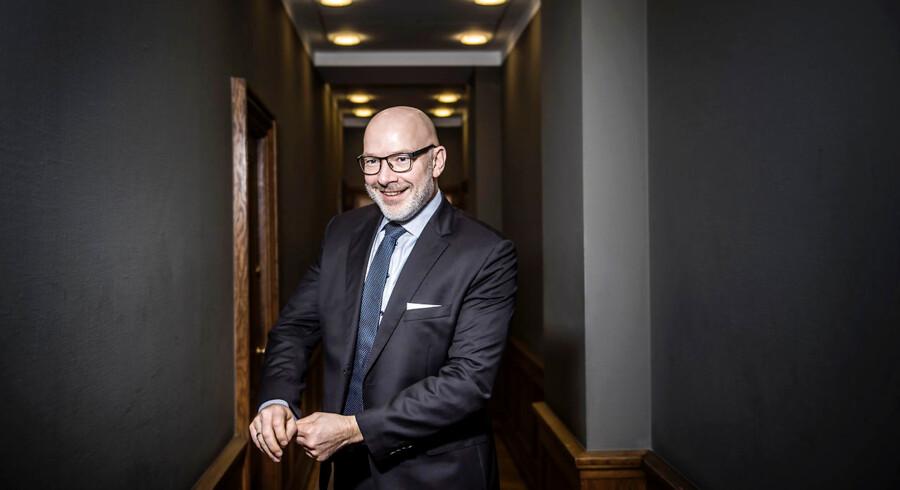 Jesper Nielsen blev 1. oktober sidste år indsat som midlertidig chef i Danske Bank og har siden taget alle i banken med storm.