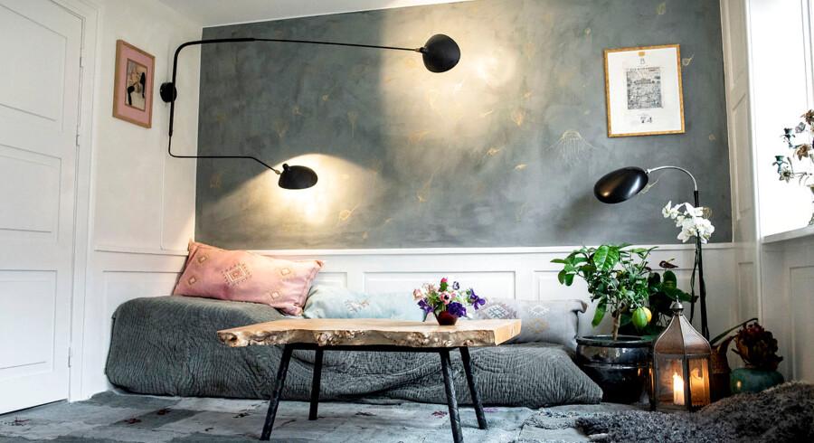Josephine Bergsøe har været inde over alt i sin nye lejlighed på Christianshavn, hvor æstetik vinder over funktionalitet.