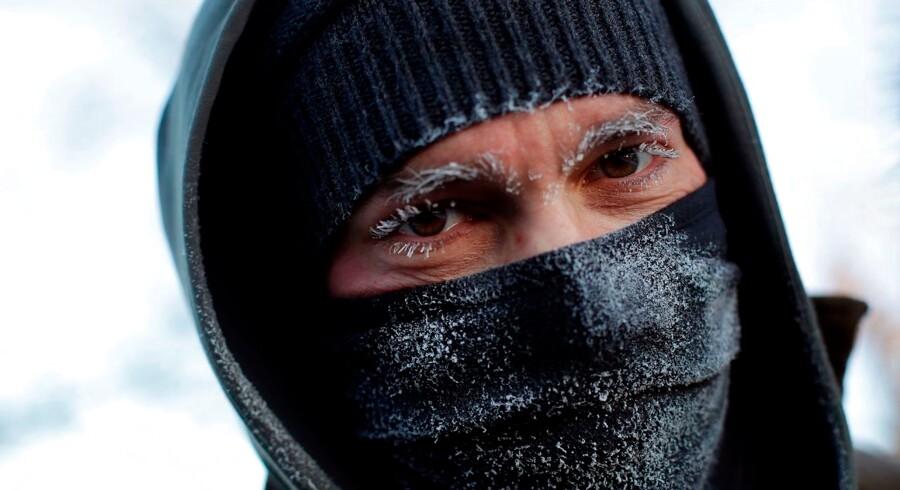 Ekstrem kulde har de seneste dage ramt Midtvesten i USA. Men i løbet af weekenden kommer plusgraderne.
