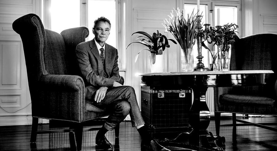 Klaus Riskær Pedersen kæmper fra sit hjem på Gammel Strand for at komme i Folketinget.