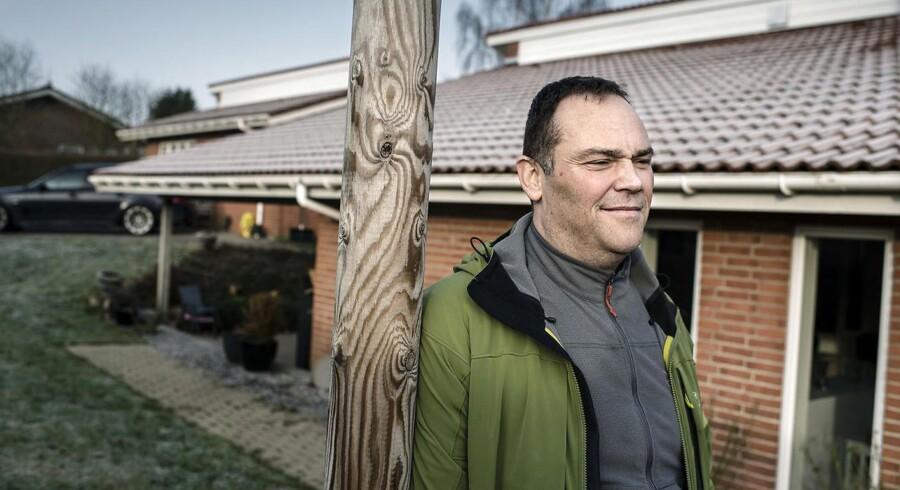 Søren Wamsler er i en årrække ikke blevet oprævet ejendomsskat af sit hus i Slagelse. Skatten blev først betalt, efter han hvert år selv har indtastet ejendomsværdien i sin selvangivelse.