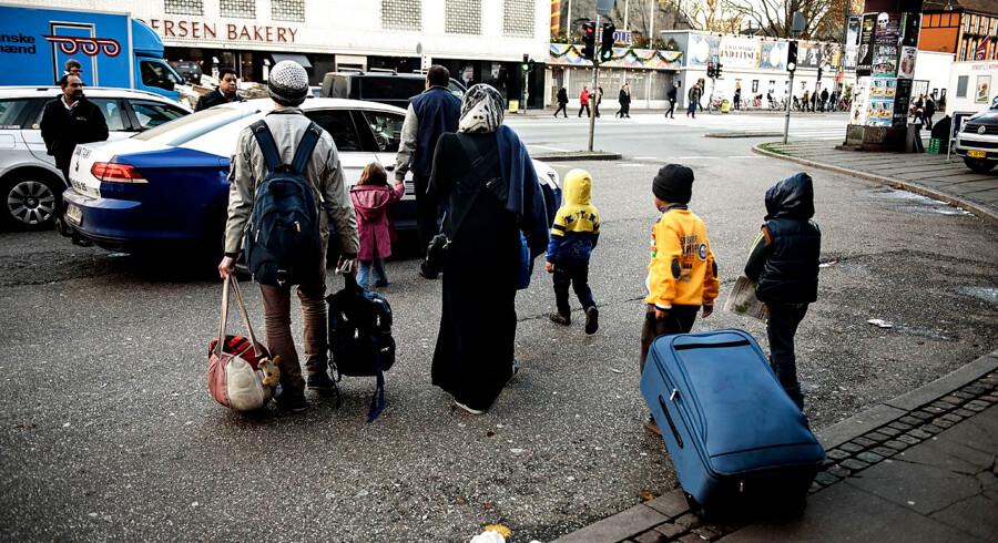 (ARKIV) Sammenlignet med tidligere år er det få flygtninge, som landets kommuner står til at skulle tage imod i 2019.
